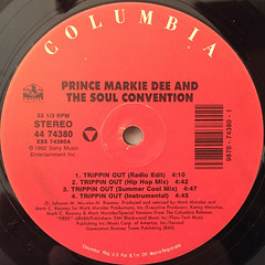 PRINCE MARKIE DEE AND THE SOUL CONVENTION:TRIPPIN OUT(LABEL SIDE-A)