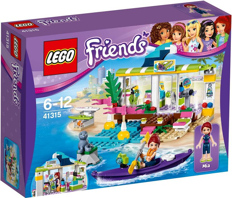 LEGO Friends Estate 2017 - Heartlake Surf Shop (41315)