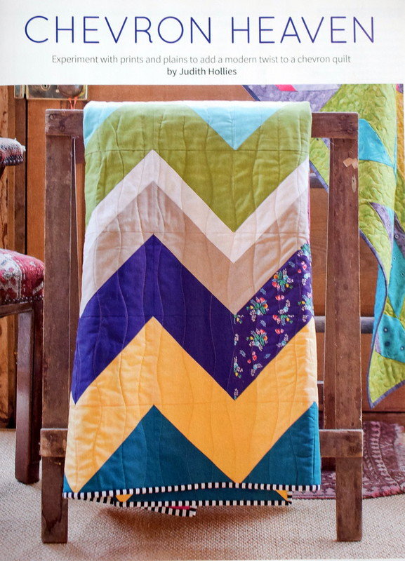 Chevron Heaven Quilt (Popular Patchwork April17)