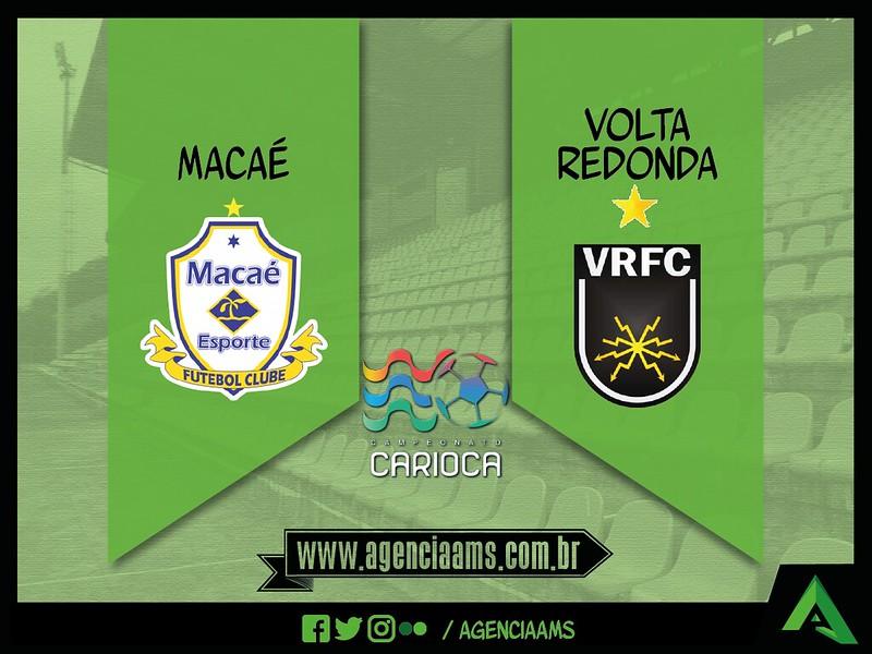 Macaé 2x2 Volta Redonda / 02/04/2017