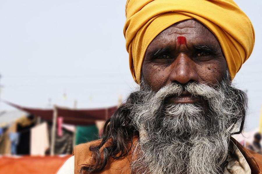 Cадху, Кумбхамела 2013, Аллахабад © Kartzon Dream - авторские путешествия, авторские туры в Индию, тревел фото, тревел видео, фототуры