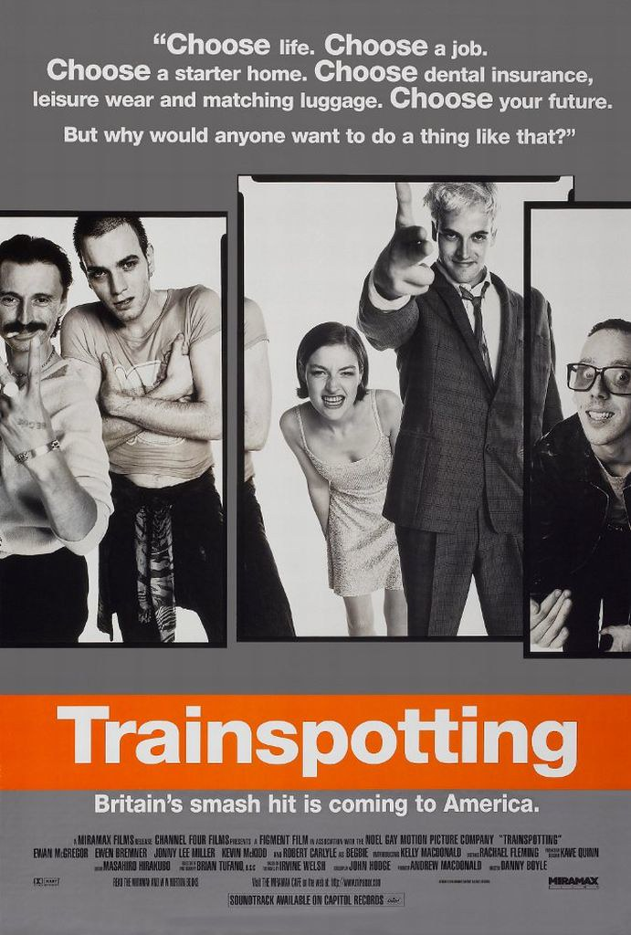 「トレインスポッティング」のポスター