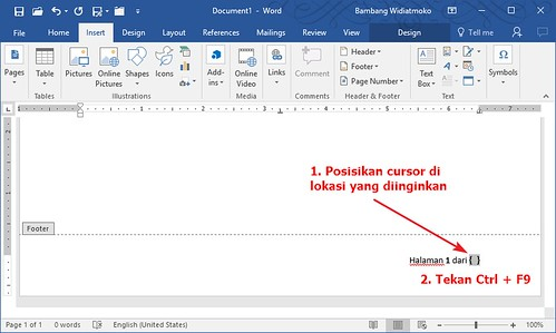 Customization Total Pages in Word | by Wheeqo