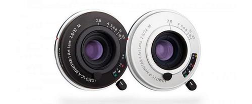 Lomography a dévoilé l'objectif Lomo LC-A MINITAR-1 Art Lens 2.8/32 M