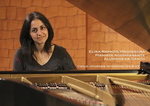 ELISA RAPADO, PROFESORA PIANISTA ACOMPAÑANTE - CICLO JÓVENES INTÉRPRETES DEL CONSERVATORIO DE LEÓN 2017