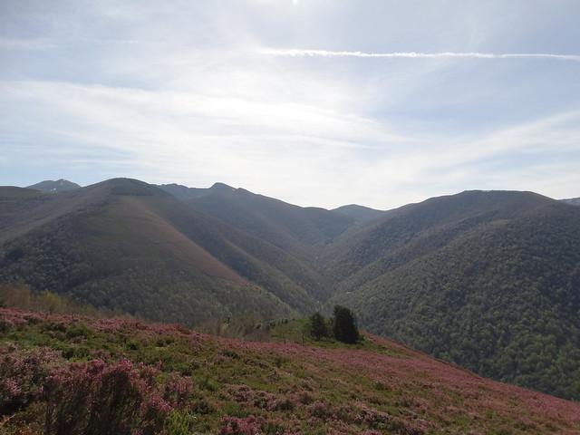 Valle río da Vara en los Ancares