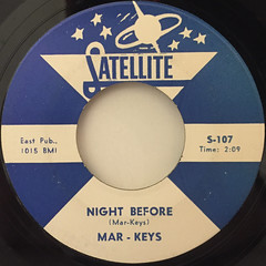 MAR-KEYS:LAST NIGHT(LABEL SIDE-B)