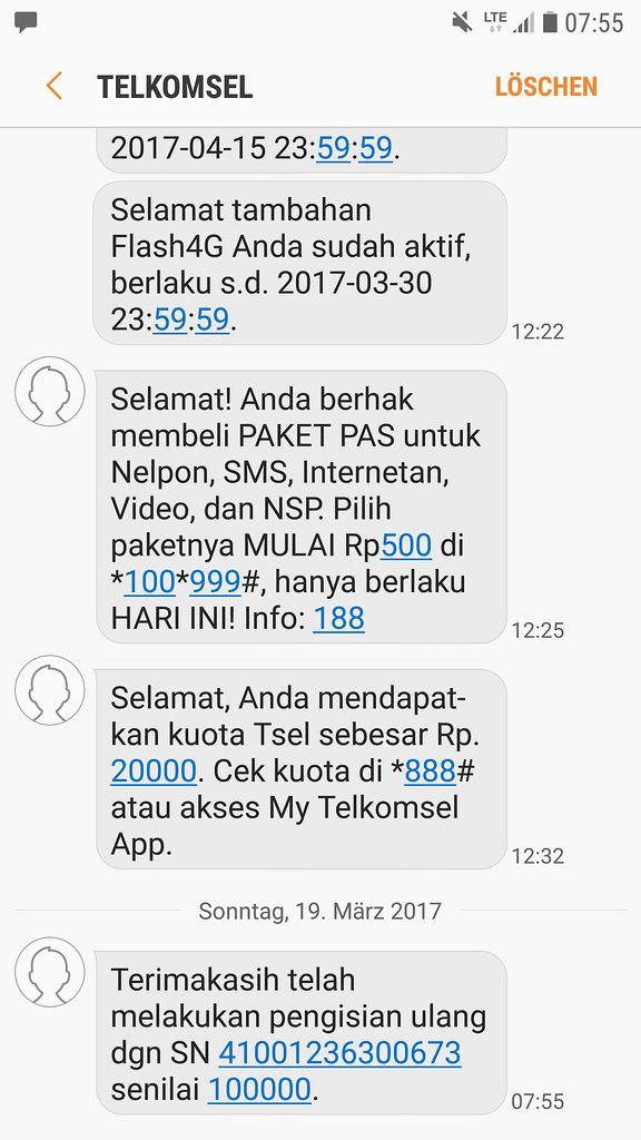 Isp Telkomsel Simpati Indonesia Southeast Asia Screensho Flickr