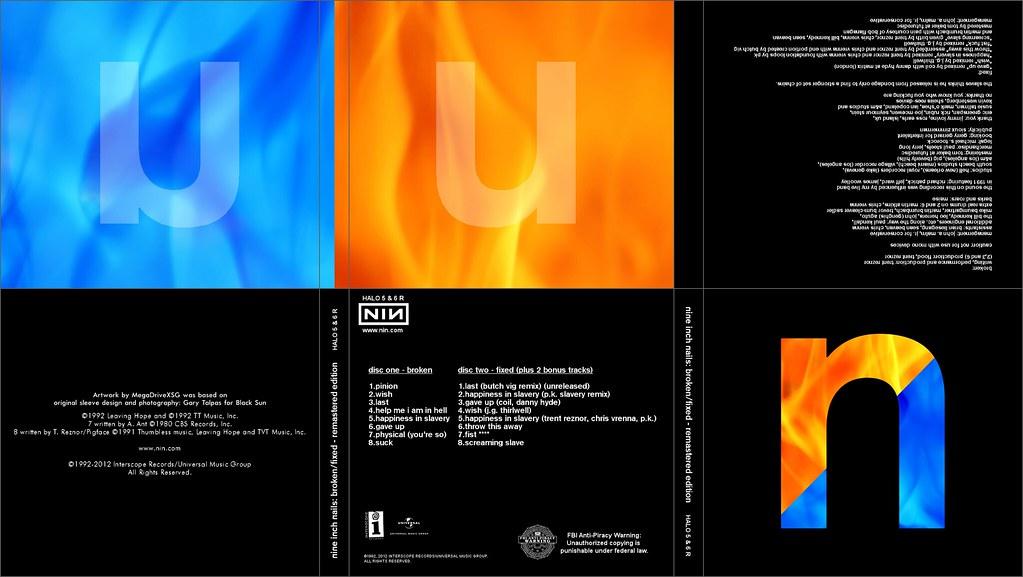 NIN Broken/Fixed remastered EP box set - digipak artwork | Flickr