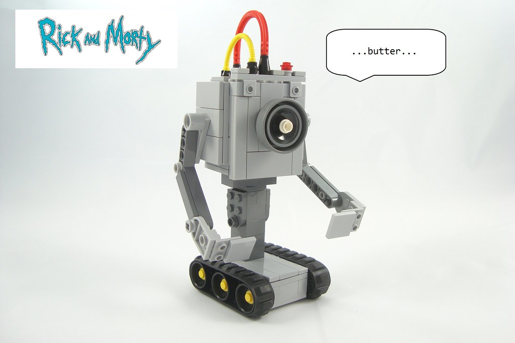 lego rick and morty what is my purpose wow more than flickr