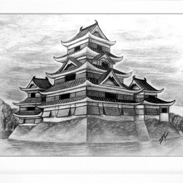 Matsumoto Castle Talent Japan Sketch Inspiration Artbook Artwork
