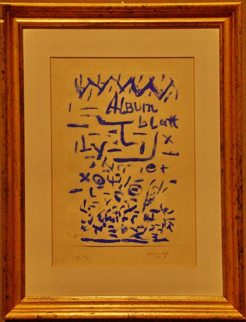 paul klee 1879 1940 album blutt für y foglio d album pe flickr paul klee 1879 1940 album blutt für y foglio d album