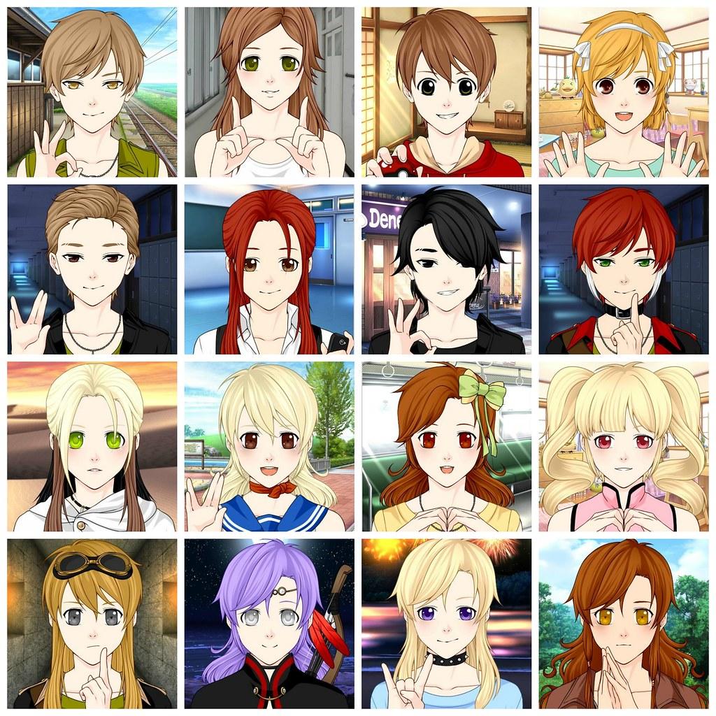 Anime Family Of 4 - Anime