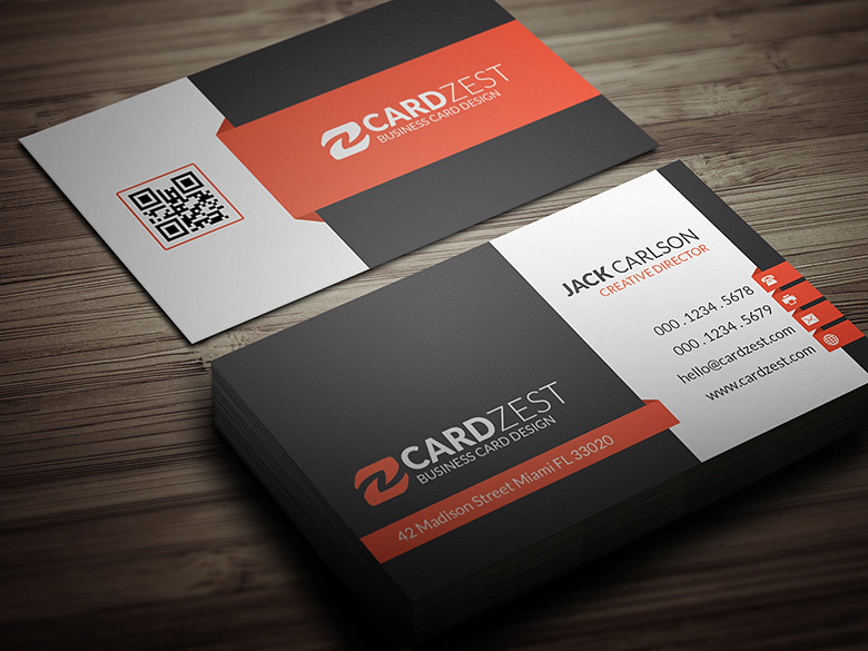 Modern Corporate Professional Business Card Template Flickr - Professional business cards templates