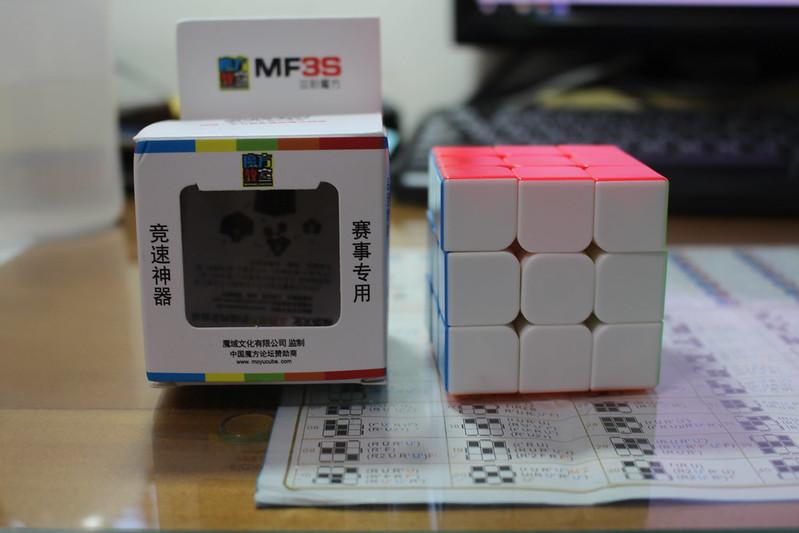 魔方教室 MF3S 魔方與盒子