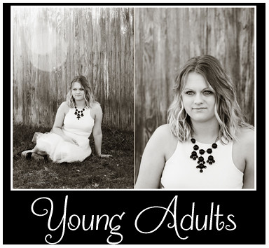 Young Adults Portfolio Button