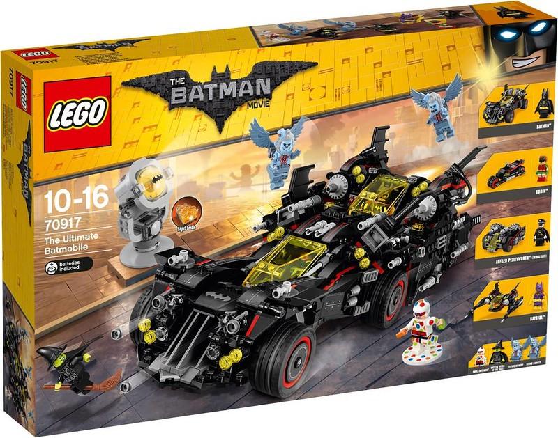 LEGO Batman Movie The Ultimate Batmobile (70917)
