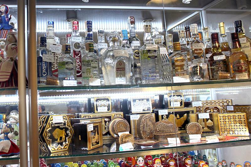 """Алкогольная продукция и сувениры в павильона """"Белсоюзпечать"""" (г. Минск)"""
