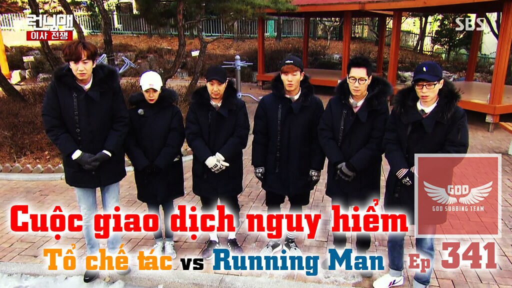 [Vietsub] Running Man Tập 341