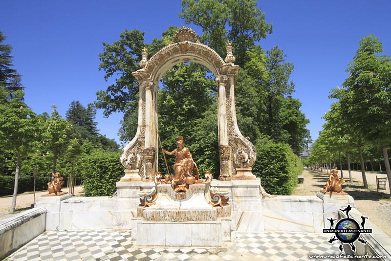 Las 8 Calles. Reales Jardines del Palacio Real de la Granja de San Ildefonso. Segovia, Castilla y León. España.