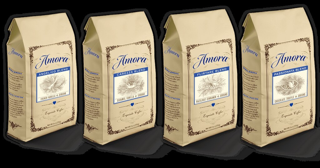 free samples of coffee-amora-coffee-blends
