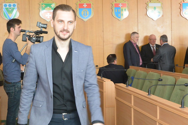 Олександр Ширяєв позачергова сесія 5квітня 2017