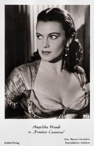 Angelika Hauff in Fräulein Casanova (1953)