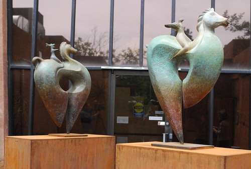 Bird Ryders Sculpture Dedication at Rape Crisis Center