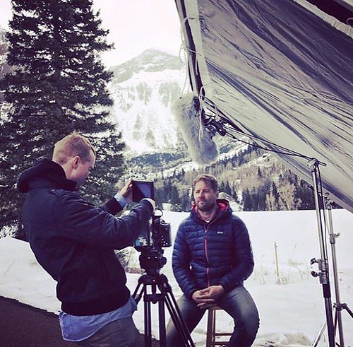 Filming interviews in Telluride, Colorado with GeoStabilization International | by shortandhat