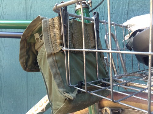 Wald Basket bike bag pouch. | by BikeTinker