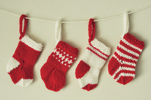 Mini Christmas stockings | by SmurfPop