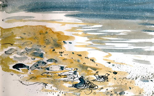 Sketchbook #102: Trip to the Shore