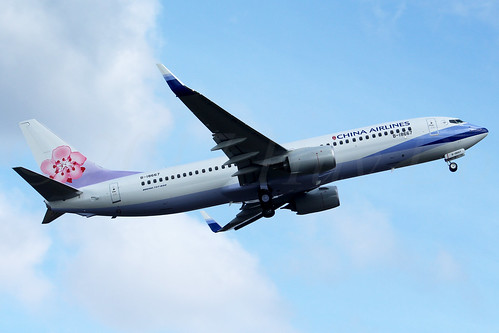 Boeing 737-8AL(WL) China Airlines B-18667