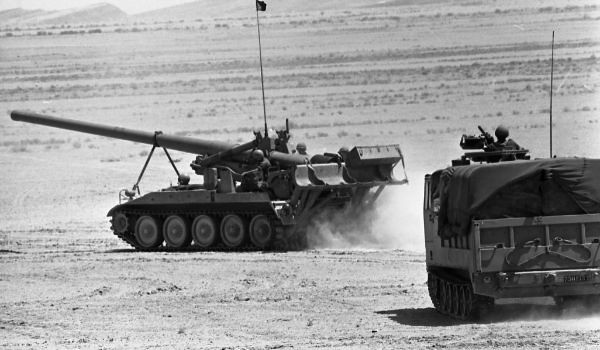 175mm-M107-M548-Alfa-weapons-display-1972-hrv-1-israel-sun