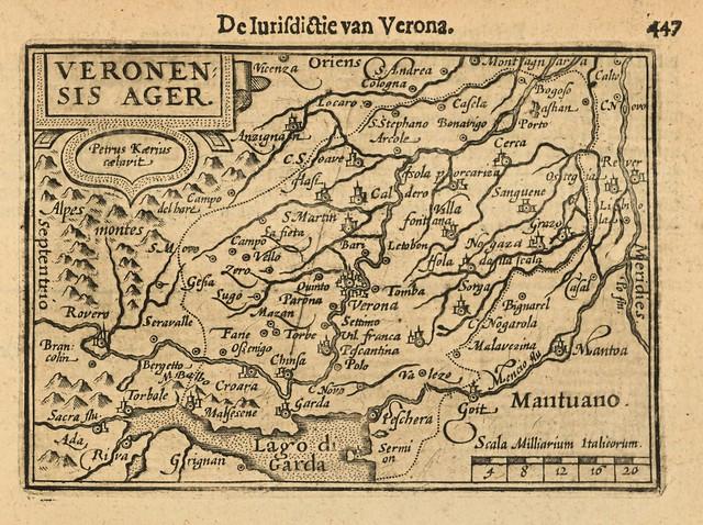 Cornelis Claesz. van Wieringen - De Iurisdictie van Verona (1609)