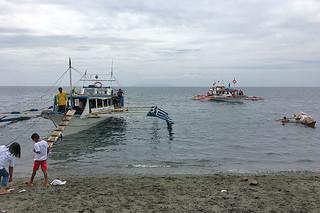 Sibale island - Around Pinamalayan boats
