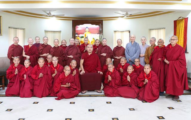 第一屆比丘尼僧團傳戒會