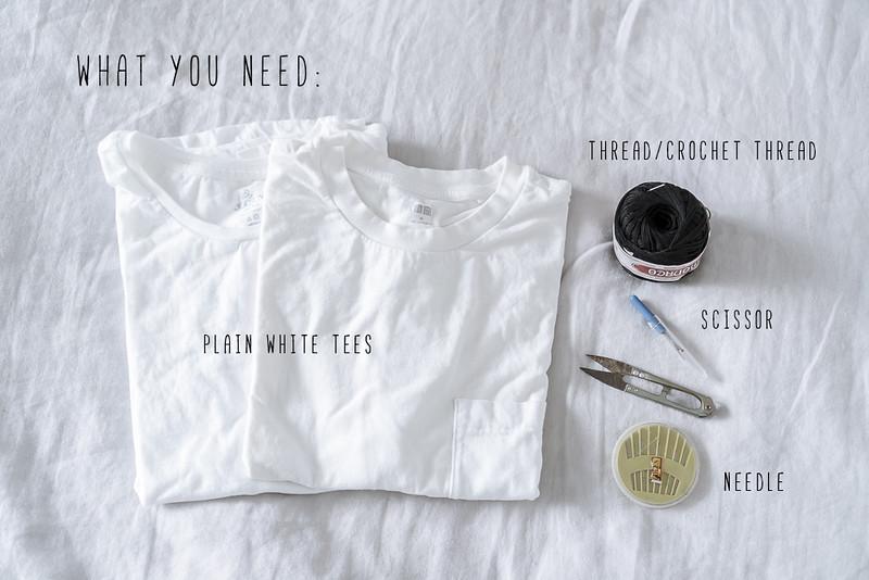 diy designer embroidered t shirt