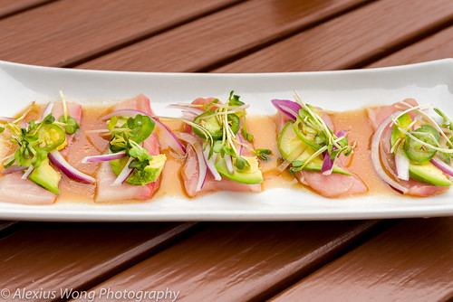 Yellow Tail Carpaccio, Ikko Sushi