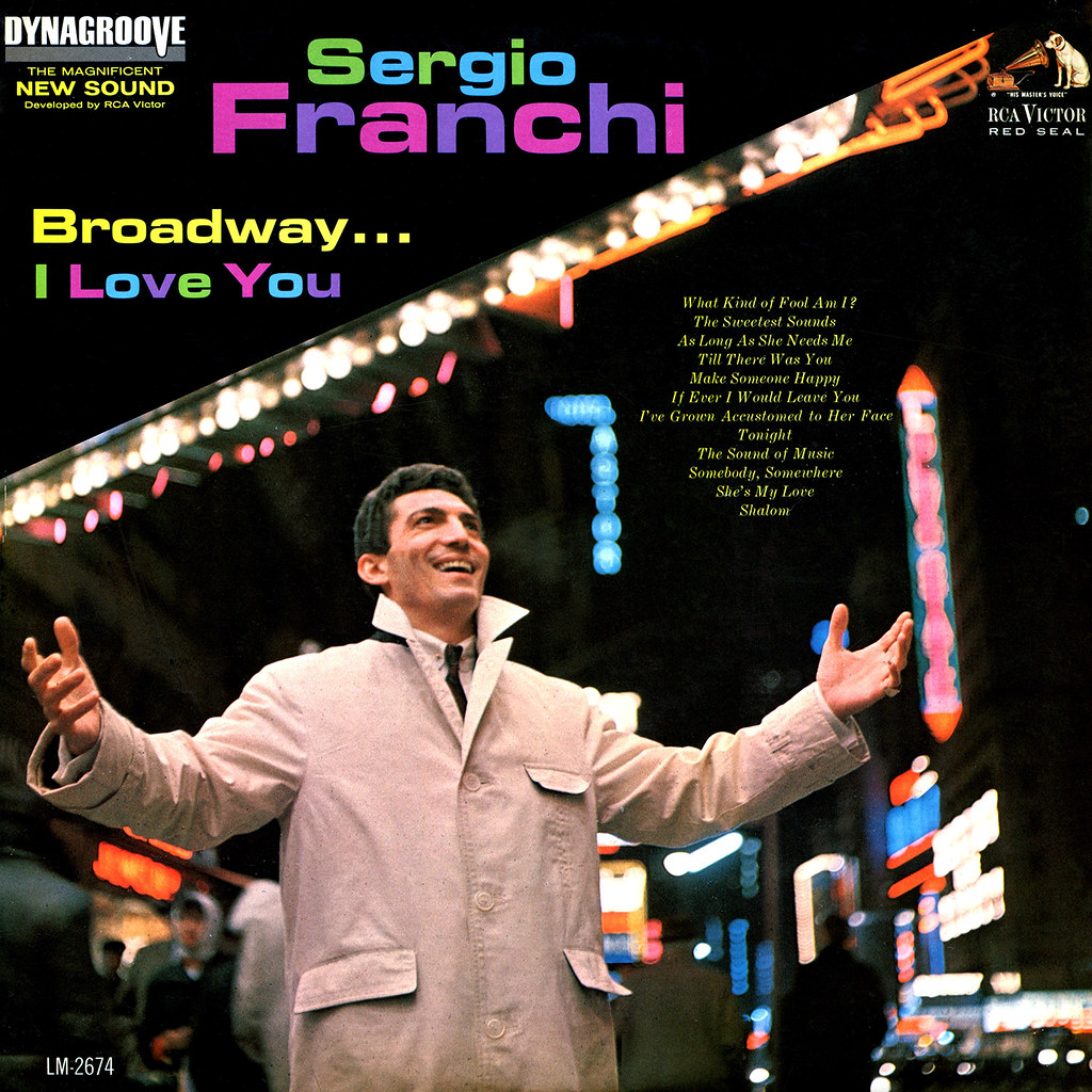 Sergio Franchi - Broadway… I Love You