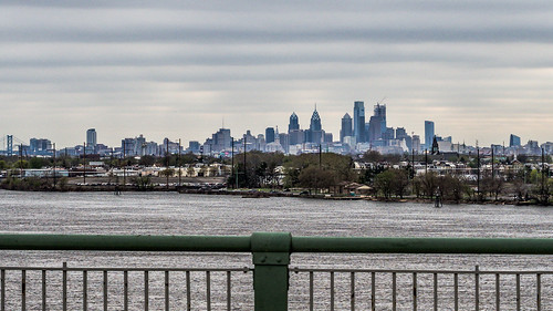 skyline from Tacony-Palmyra bridge | by BlogKing