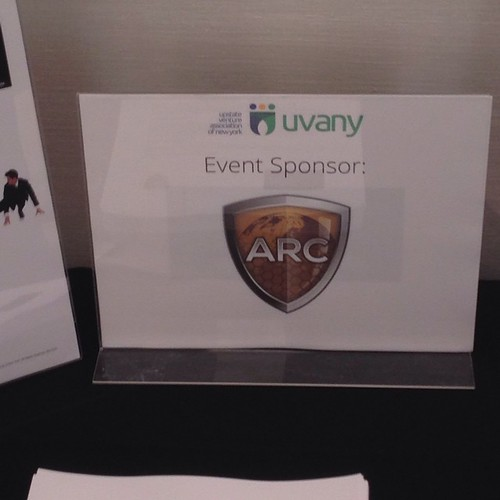 At UVANY Conference | by arcgroupny
