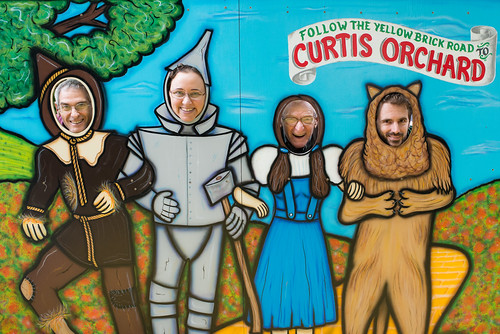 Mark, Lisa, Don & Lian as Characters from The Wizard of Oz | by goingslowly