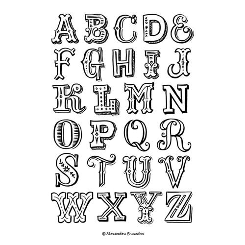 D Block Letter Font Free