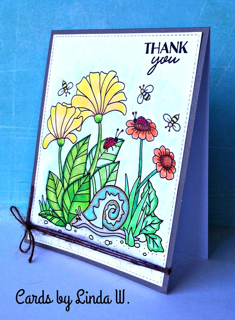 thanks with snail