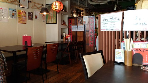 「台湾料理故宮」の店内