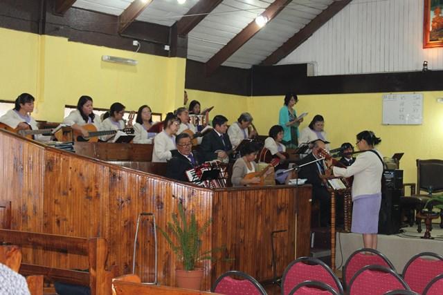 IMPCH Pdte. Bulnes recibe a sus pastores de Conferencia