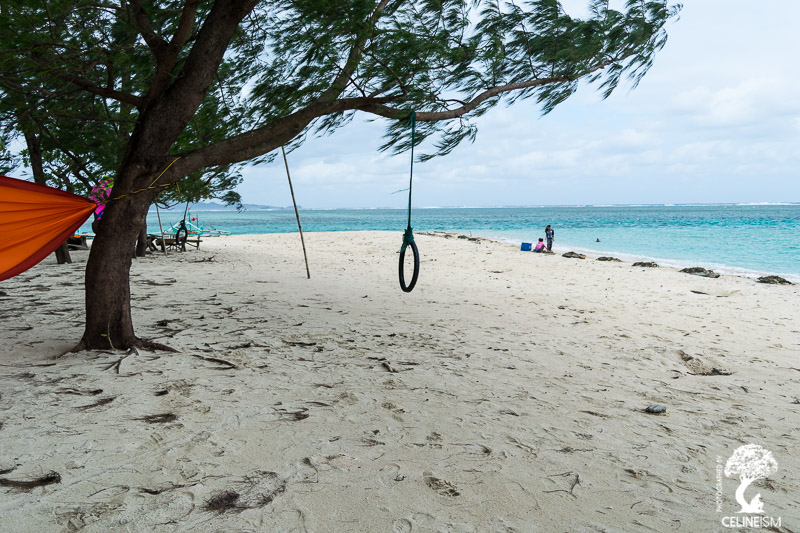 Anguib Beach white sands