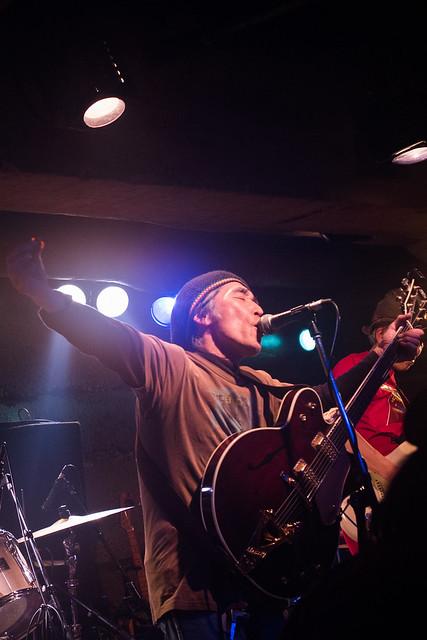 Yoshimitsu Kasuga's 60th birthday live at Manda-La 2, Tokyo, 03 Apr 2017 -00054