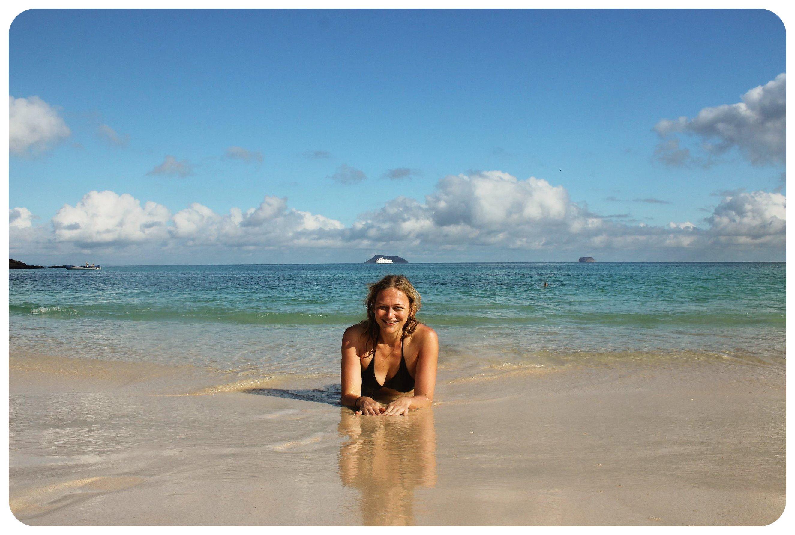 galapagos beach dani